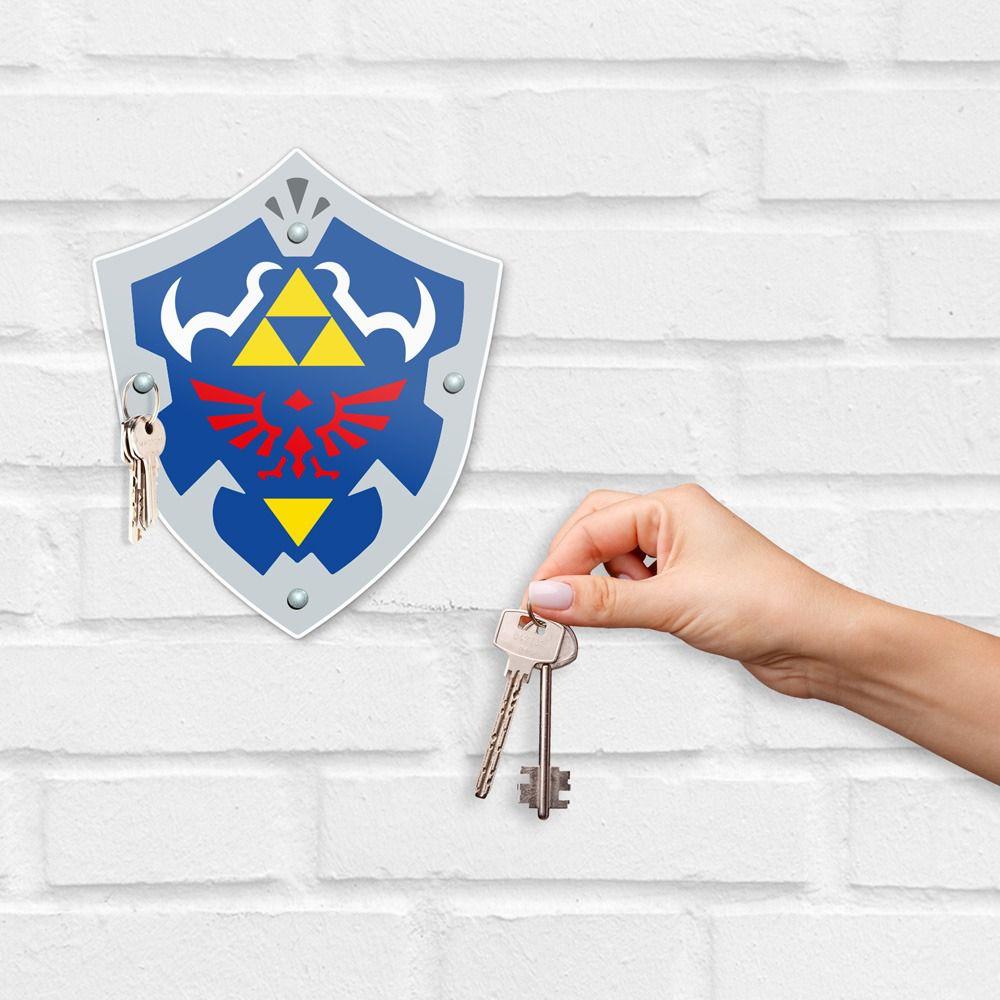 Porta Chave The Legend Of Zelda: Escudo de Hyrule: (Hyrule Shield)