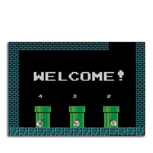 "Porta Chave: ""Welcome!'' -  Super Mario Bros"