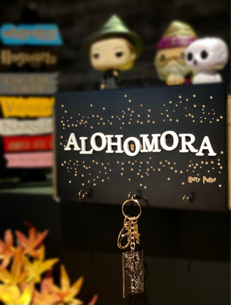 Porta-Chaves Alohomora: Harry Potter - EV