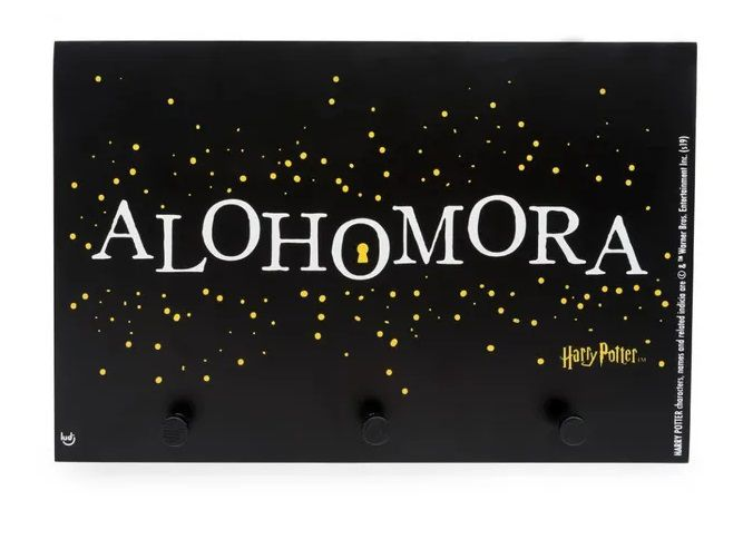 Porta-Chaves Alohomora: Harry Potter