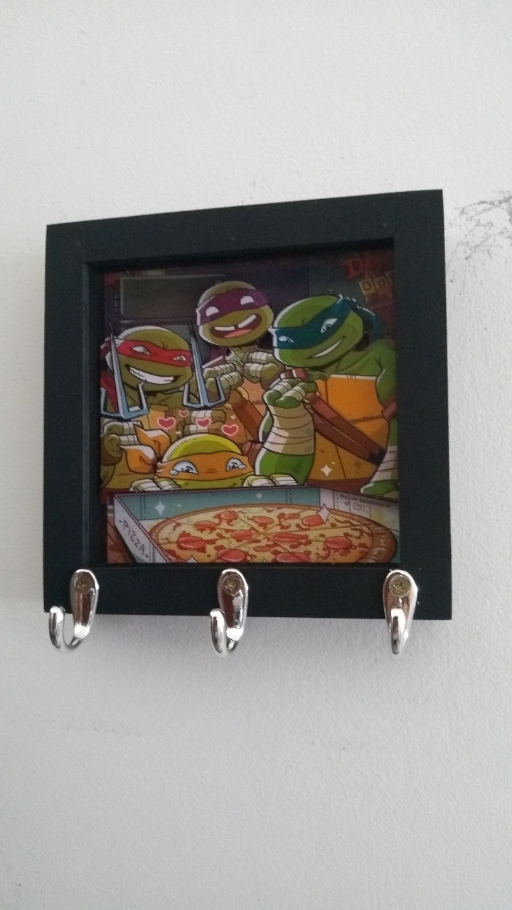 Porta Chaves As Tartarugas Ninjas: TMNT
