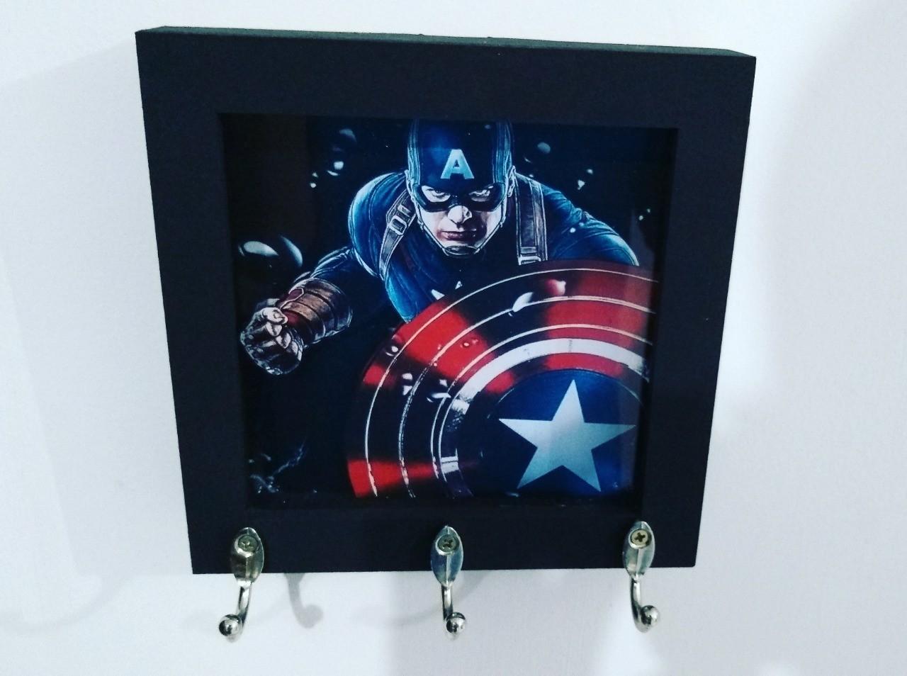 Porta Chaves Capitão América: Marvel