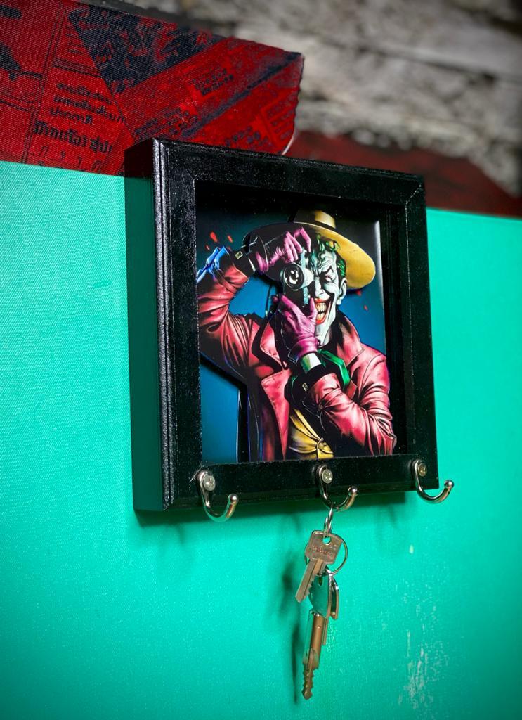 Porta Chaves Coringa (Joker): Piada Mortal - Dc Comics - EV