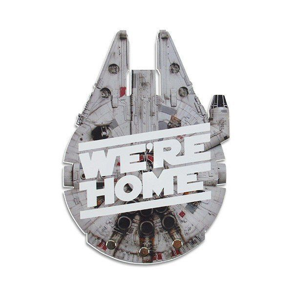 Porta Chaves Falcon We're Home: Star Wars - Fábrica Geek