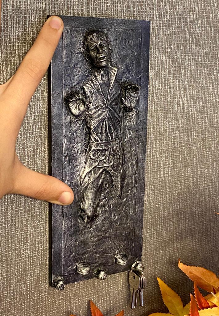 Porta Chaves Han Solo Na Carbonite: Star Wars