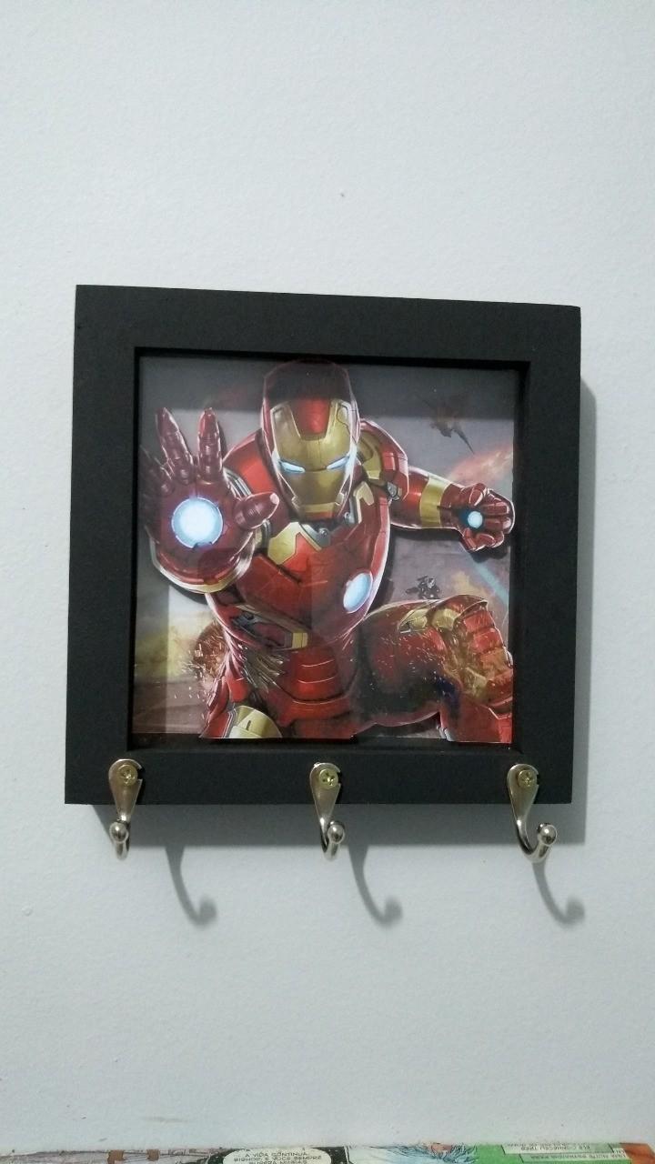 Porta Chaves Homem de Ferro (Iron Man): Marvel