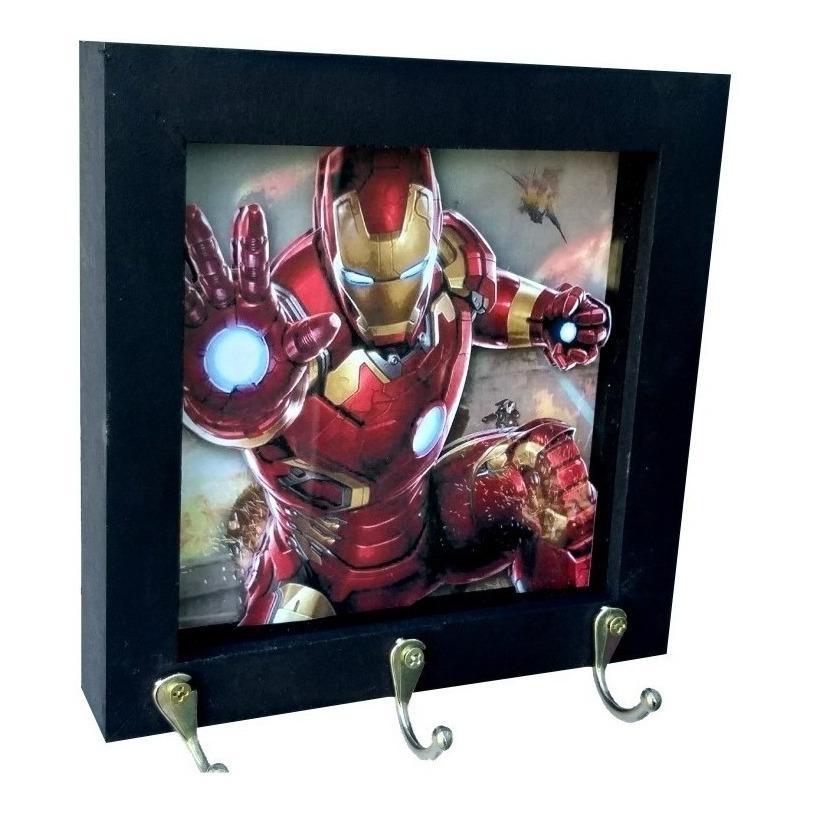 Porta Chaves Homem de Ferro Iron Man Ultimato End Game - EV