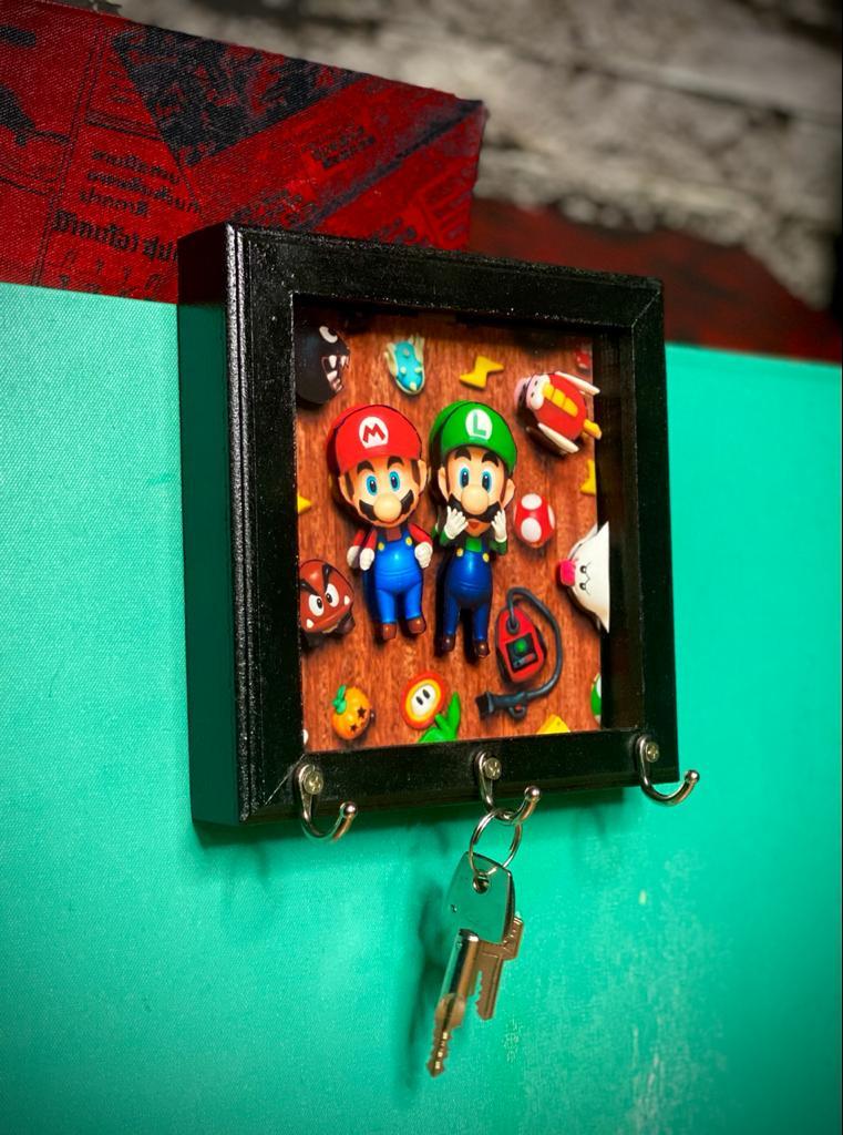 Porta Chaves Mario e Luigi: Super Mario Bros