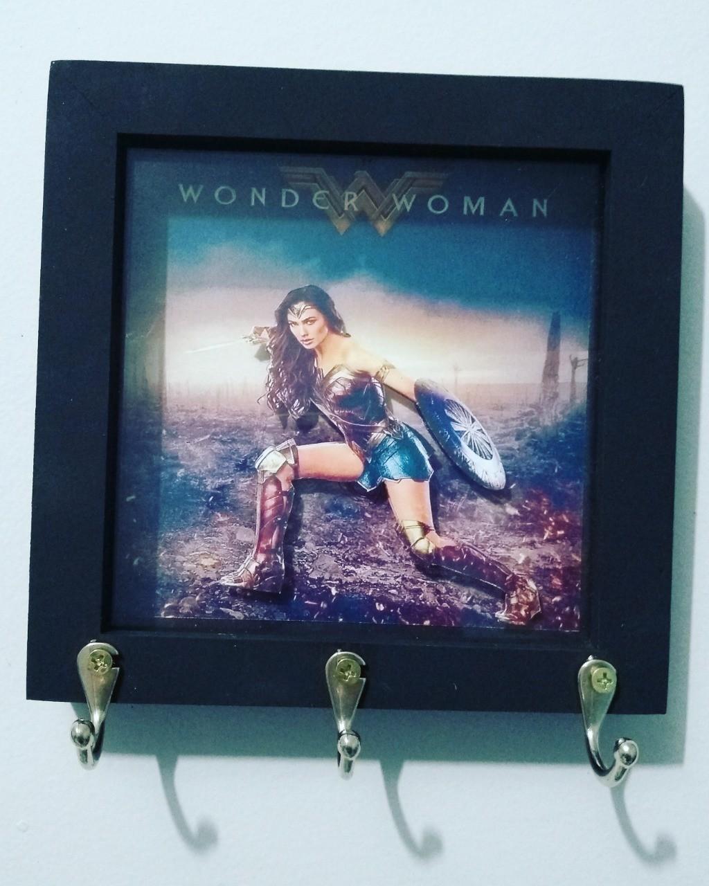 Porta Chaves Mulher Maravilha (Wonder Woman): Dc Comics
