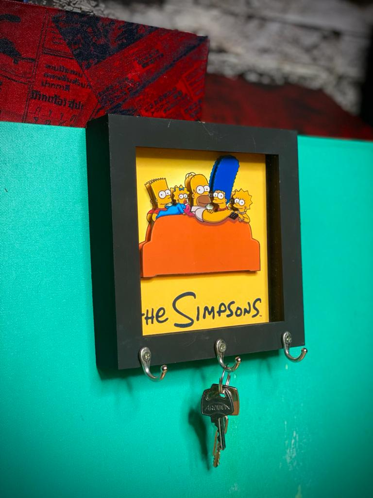 Porta Chaves Os Simpsons: Sofa