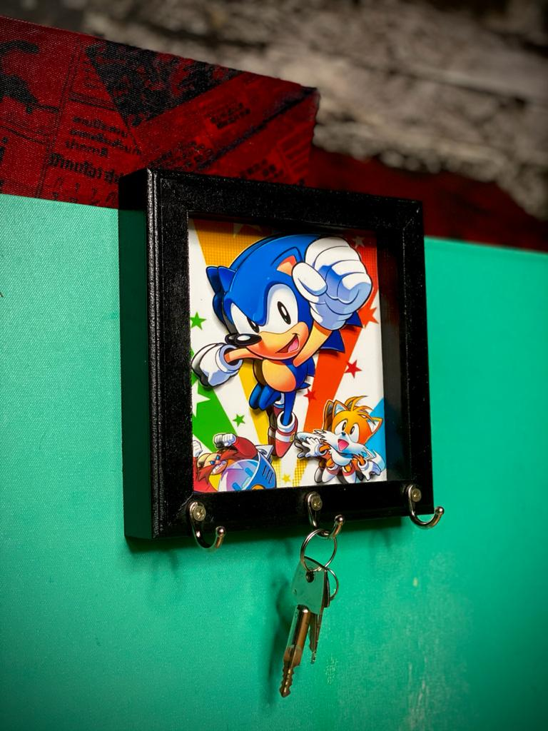 Porta Chaves Sonic the Hedgehog: