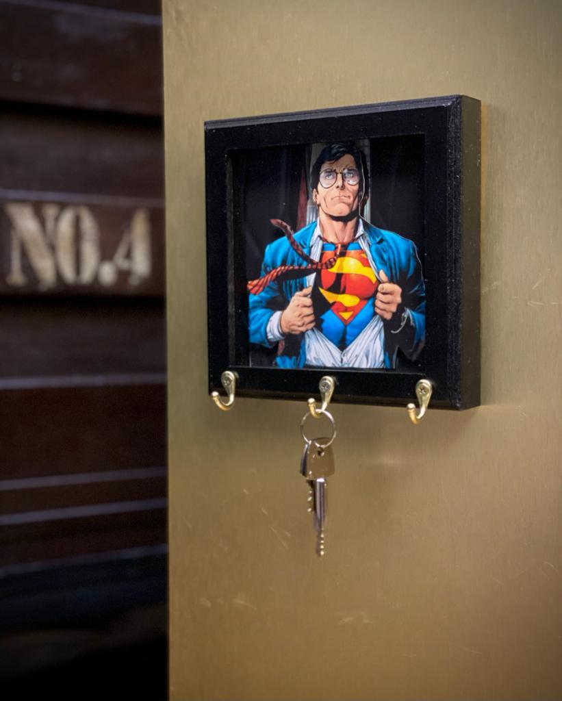 Porta Chaves Superman: Quadrinho - Dc Comics
