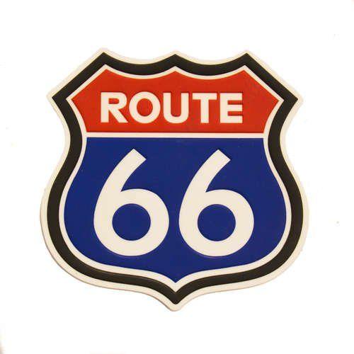 Porta Copo Route 66 Branco