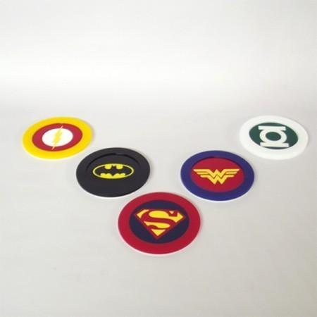 Porta Copos DC Comics - FP Design
