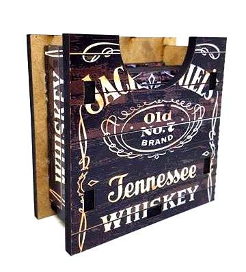 Porta Copos Jack Daniels Set com 6 descansos.