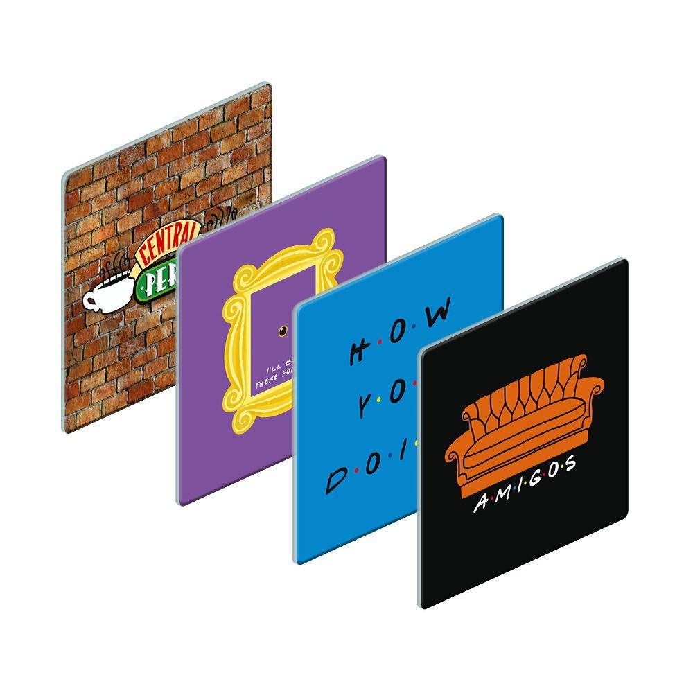 Porta Copos Logo: Friends (Set com 4) - EV