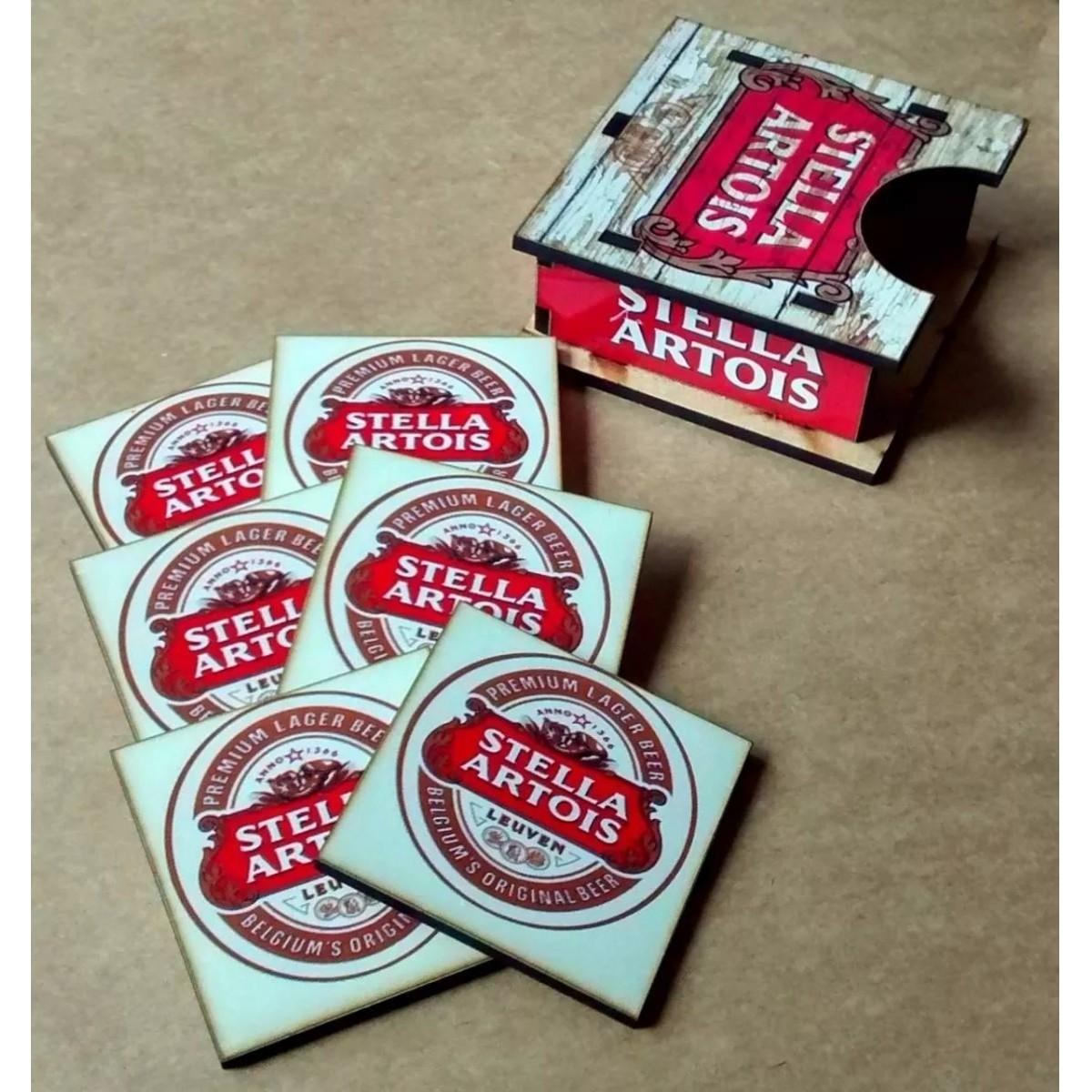 Porta Copos Stella Artois Grande