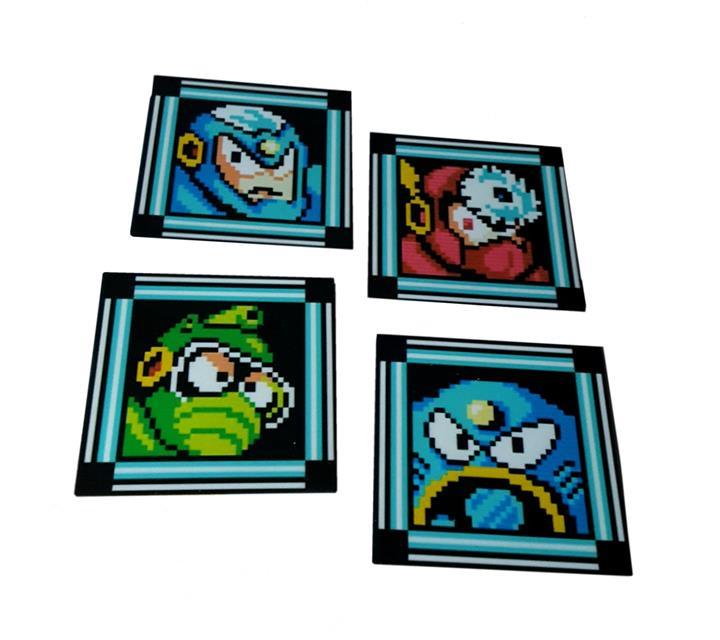 Porta Copos Vilões Mega Man - Fabrica Geek