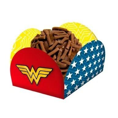 Porta Forminha Wonder Woman - Festcolor