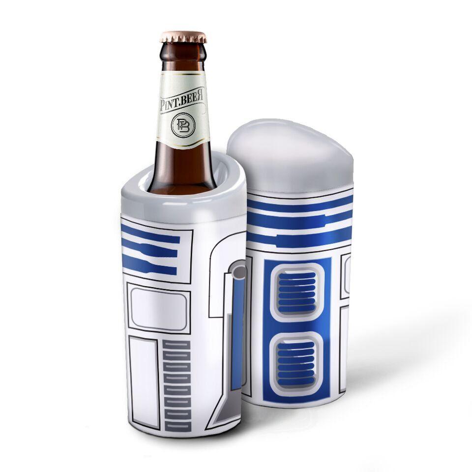 Porta Garrafa Térmico R2-D2: Star Wars 600ml - EV