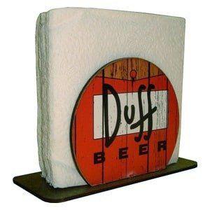 Porta Guardanapo: Duff Beer
