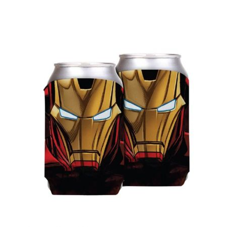 Porta Latas Iron Man - Marvel