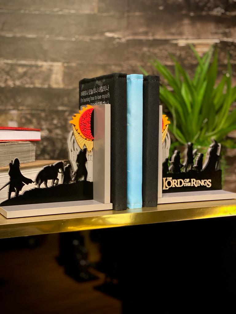 Porta Livro / Aparador de livro Placas: Personagens: O Senhor dos Anéis (The Lord of the Rings)
