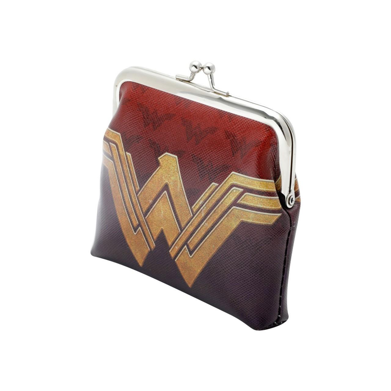 Porta Moedas/Carteira Logo Mulher Maravilha: Wonder Woman DC Comics - Urban
