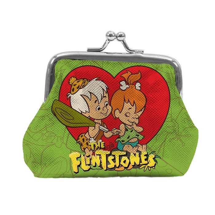 Porta Moedas Hanna Barbera : Flintstones Pedrita e Bambam  - Urban