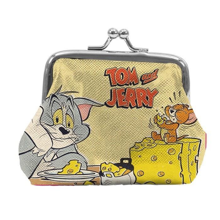 Porta Moedas Hanna Barbera : Tom e Jerry Amarelo - Urban