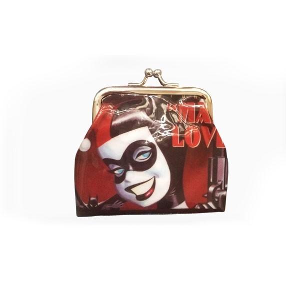 Porta Moedas Harley Quinn Mad Love