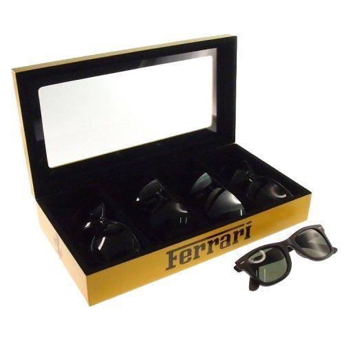 Porta Óculos Ferrari (Amarelo)