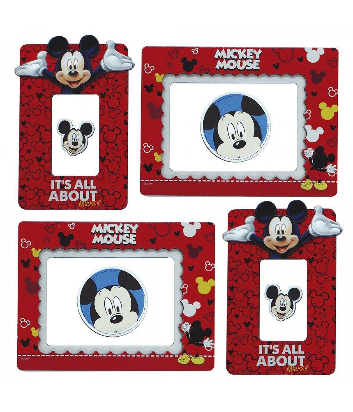 Porta Retrato Adesivo Mickey