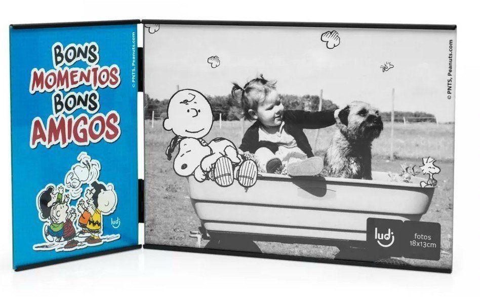Porta Retrato Snoopy: Bons Amigos