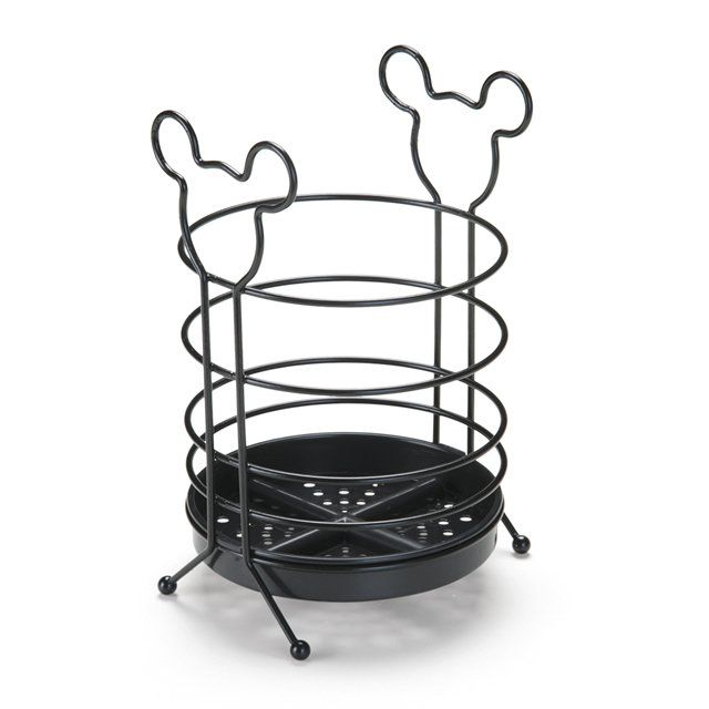 Porta Talheres Mickey Mouse: Disney (Preto)