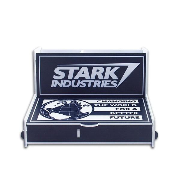 Porta Treco (Organizador de Escritório) Stark Industries (Homem de Ferro)