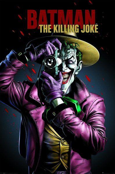Quadro Coringa: (Batman A Piada Mortal) - Wall Street Posters