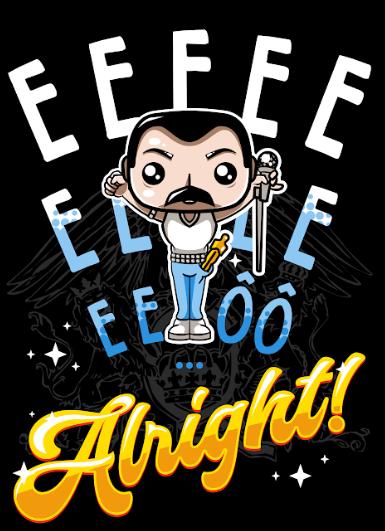 Pôster Freddie Mercury: Queen (Sem Moldura)