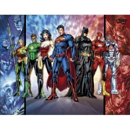 Poster Justice League New 52