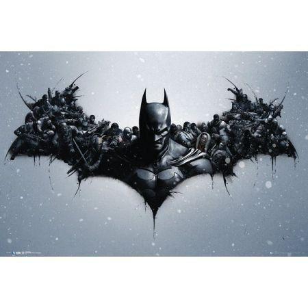Poster Moldurado Batman Arkham Origins