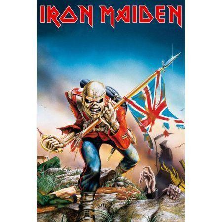 Poster Moldurado Iron Maiden