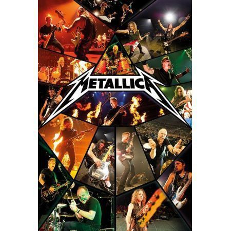 Poster Moldurado Metallica