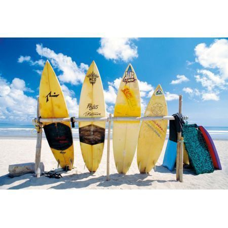 Poster Moldurado Pranchas de Surf