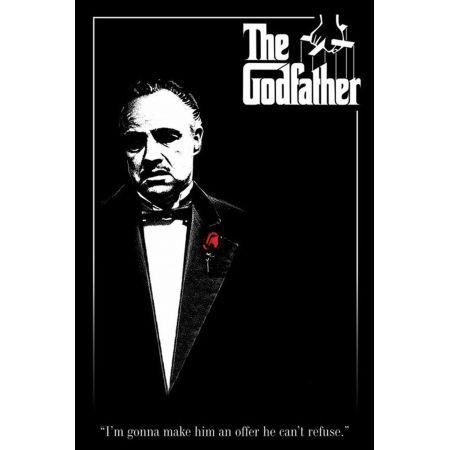 Poster Moldurado The Godfather