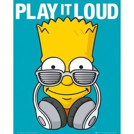 Poster Moldurado The Simpsons Bart
