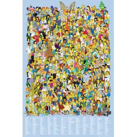 Poster Moldurado The Simpsons galery