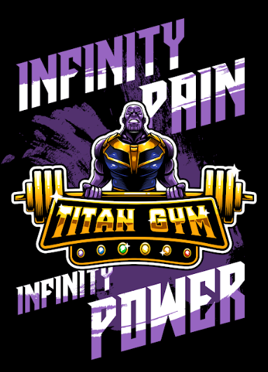 Pôster Thanos (Infinity Pain Infinity Power): Vingadores Guerra Infinita (Sem Moldura)