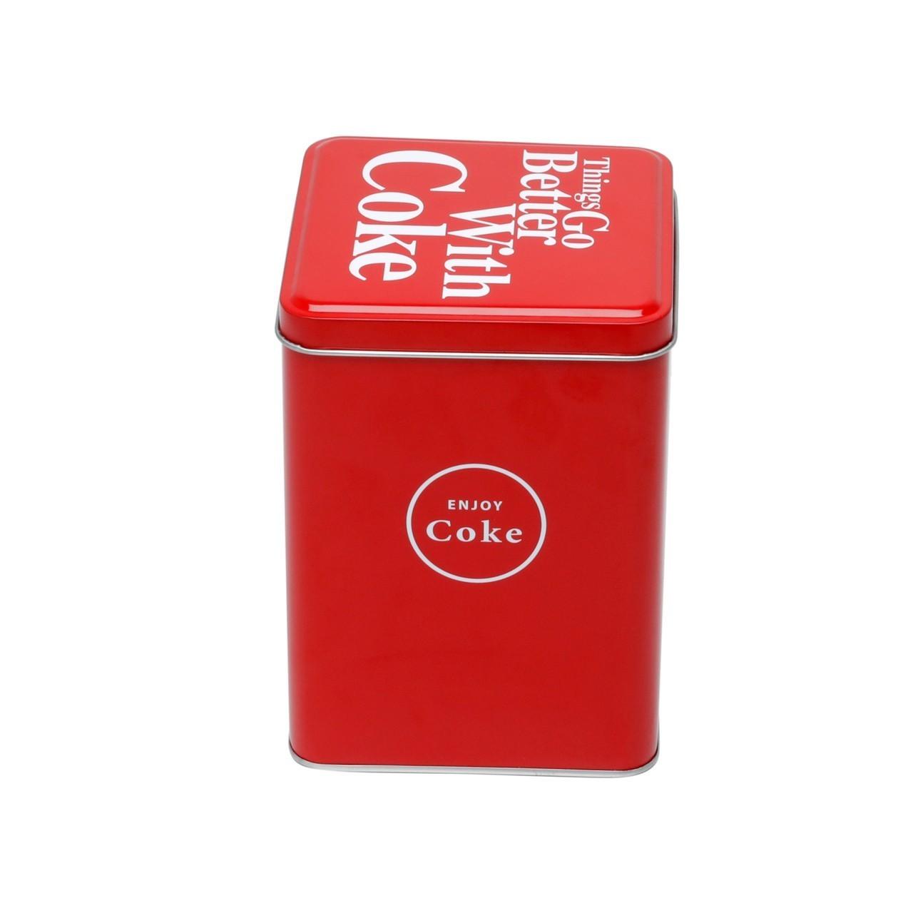 Pote de Biscoito Quadrado: Coca Cola - Urban