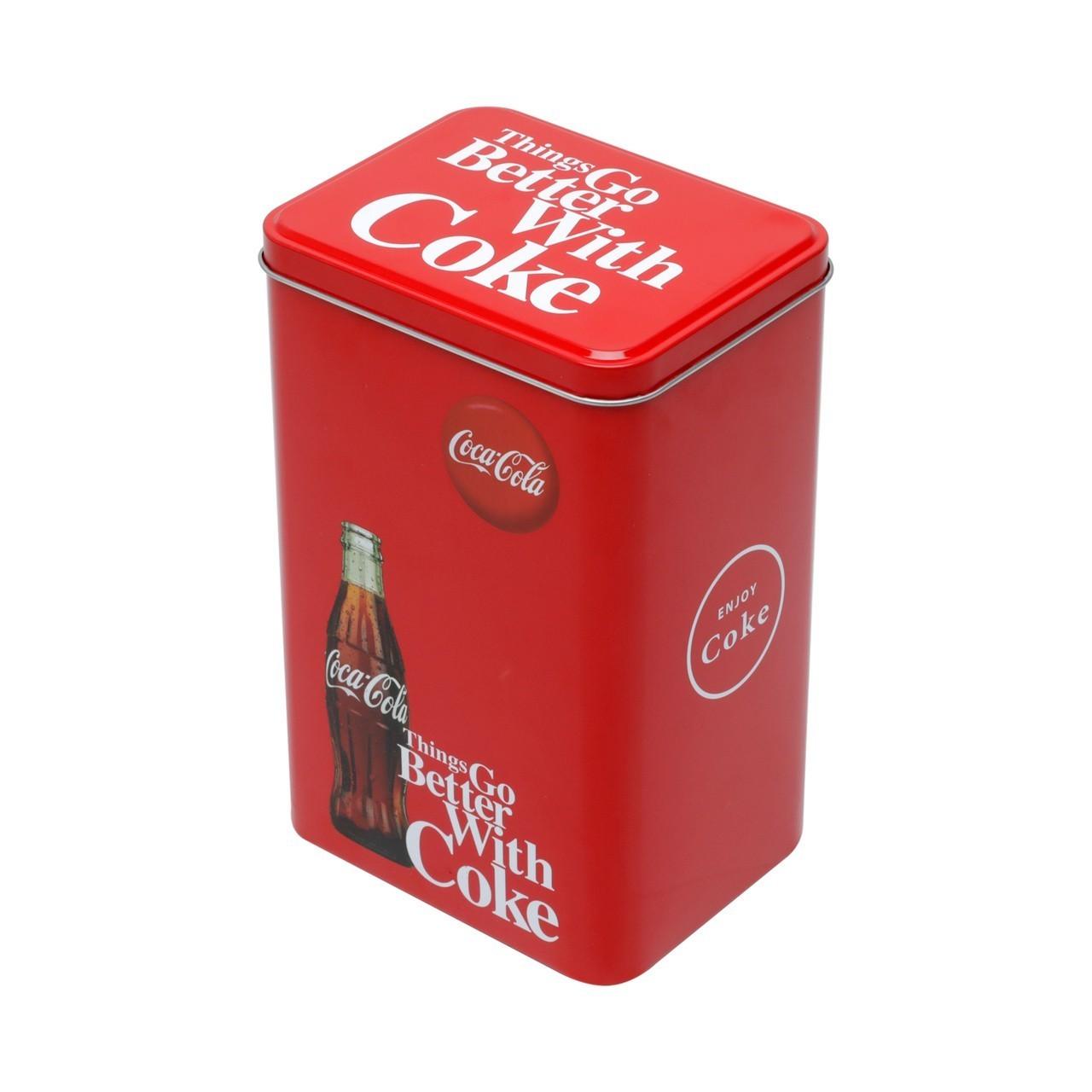 Pote de Biscoito Quadrado Médio: Coca Cola - Urban