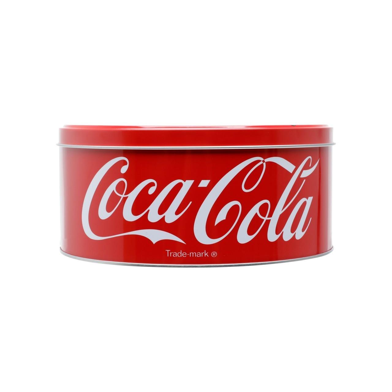 Pote de Biscoito Redondo ''Drink In Bottles Sold Here'': Coca Cola - Urban